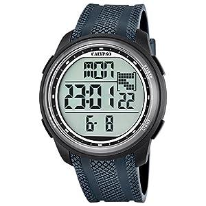 Calypso UK5704/6 – Reloj digital para hombre, cuarzo y correa de