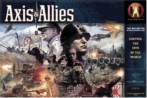 Avalon Hill 934824 - Axis & Allies, Basisspiel, Neuauflage (englisch)