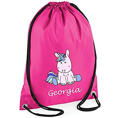 Unicorn Personalised Gym Bag - childrens-sports-bags, childrens-bags