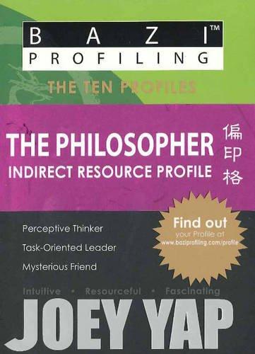 Philosopher: Indirect Resource Profile por Joey Yap