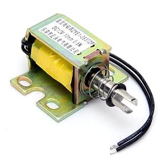 DC 12V Push-Open Frame-Solenoid-Hubmagnet Elektromagneten (zye1-0837zp) Magnet