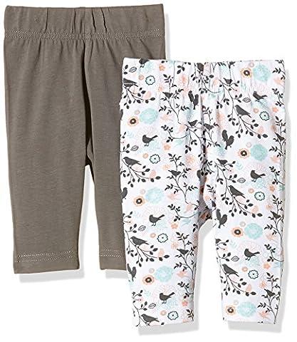 Twins 1 225 28, Leggings Bébé Fille, Multicolore-Mehrfarbig (Mehrfarbig 5024), 2 Mois (lot de 2)