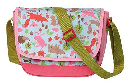 Sigikid, Mädchen, Kindergartentasche Waldtiere, Forest, Kinder-Sporttasche, 22 cm, Rosa, 24836
