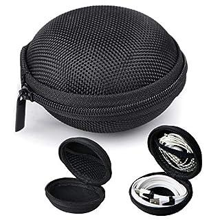 Schutzhülle für Kopfhörer, Hartschale, Aufbewahrungsbox, Tragetasche für Nuheara IQbuds