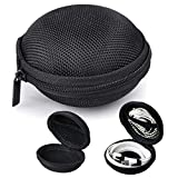 Black Earphone, Headphone Protective Hard Case, Storage Box, Carrying Pouch for GOJI Collection GTCIBTB18
