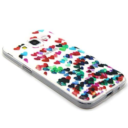 Voguecase® für Apple iPhone 5C, Schutzhülle / Case / Cover / Hülle / TPU Gel Skin (NEW YORK) + Gratis Universal Eingabestift Bunte Liebe