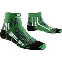 X-Socks–Calze da corsa XRUN Speed Two, da uomo, Uomo, X-SOCKS RUN SPEED TWO, Verde/nero, 45/47