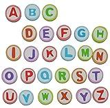 Unbekannt 26 tlg. Set: Radiergummi - Buchstaben ABC Alphabet - Radierer - Schulanfang für Kinder / auch als Lesespiel - Schule lernen schreiben Schultüte