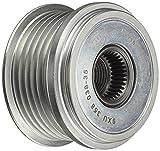 HELLA 9XU 358 038-351 Generatorfreilauf, Riemenscheiben-Ø: 54,3mm, Gewindemaß: M16x1,5, Anzahl der Rillen: 6