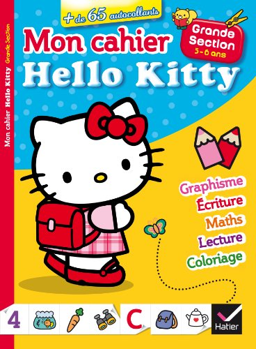 Mon cahier Hello Kitty Grande Section