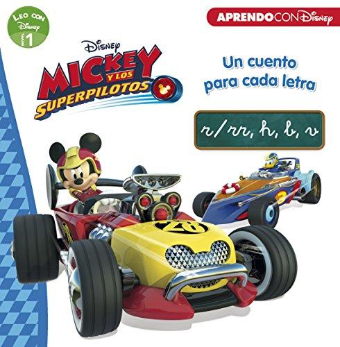 Mickey y los Superpilotos. Un cuento para cada letra: r/rr, h, b, v (Leo con Disney - Nivel 1)