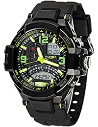 Herrenuhren Uhren Neueste Kollektion Von Synoke Männer Uhr Relogio Masculino Multifunktions Digitale G Sport Shock Uhren Led Quarz Alarm Wasserdichte Armbanduhr