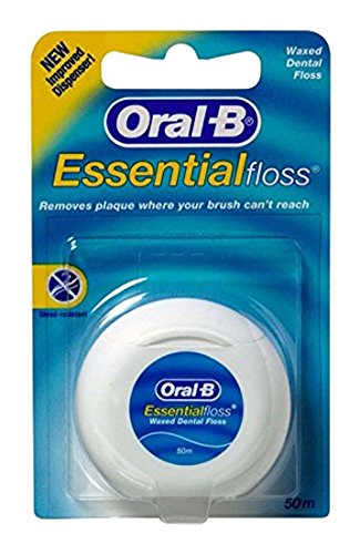 Oral-B Fil dentaire ciré Essentialfloss 50M (Lot...