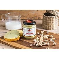 "'La auténtica Crema Dolce de pistacho ""Sicilia Gr 380, pistacho 35%, sin grasas idrogenati"