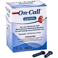 Swiss Point Of Care On Call Lanzetten | 100 Stück Packung | Zur sicheren und schnellen Abnahme eines Tröpchens... preisvergleich bei billige-tabletten.eu