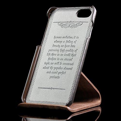 iPhone 6 / 6s Coque, Urcover Fashion Emboss Étui Apple iPhone 6 / 6s Backcase [avec Fente pour Cartes] Dur Protection Vin Rouge Housse Case Noir