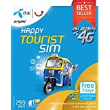 Earthroam Communications Pvt Ltd 4GB Data and 100BHT Talktime Thailand SIM Card