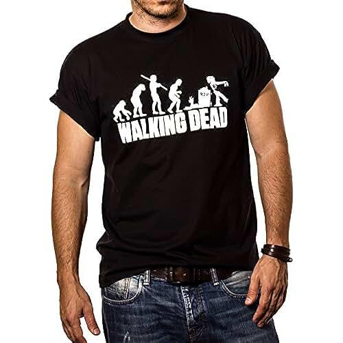 dia del orgullo friki Walking Dead - Camiseta Negra Hombre