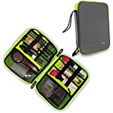 Gizga Essentials Cosmetic Organizer Toiletry Travel Kit Travel Organizer (Grey)