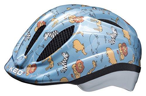 KED Meggy II Trend Helmet Kids Blue Animals Kopfumfang S/M | 49-55cm 2018 Fahrradhelm