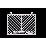 Honda CBF 1000 BJ 2006-09 Kühlerabdeckung Wasserkühler Kühlergrill Kühlerschutz Kühlergitter Kühlerschutzgitter Kühlerverkleidung Logo silber