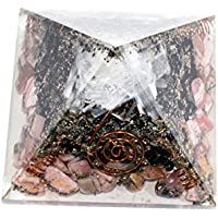 Orgonite - Orgonite Rodhocrosite + Black Tourmaline + Selenite 3-3.5 Inch Chakra & Reiki Healing Aura Cleansing... preisvergleich bei billige-tabletten.eu