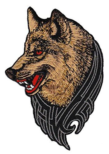 Bügelbilder Wolf Parche Plancha de