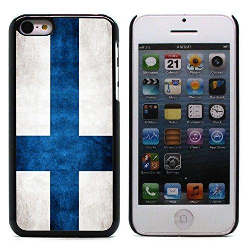 Graphic4You Vintage Uralt Flagge Von Portugal Portugiesisch Design Harte Hülle Case Tasche Schutzhülle für Apple iPhone 5C Finnland Finnisch