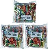 Herlitz 10733376 Gewinnlose mit Nummerierung 1-500, sortierte Farben / Kombi-Set (500 Gewinne + 1000 Nieten)