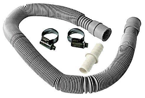 SUDS-ONLINE Waschmaschine Geschirrspüler Ablauf Ablaufgarnitur Schlauch Verlängerung Kit (Strech 50–200cm)