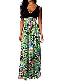 ee95306b6 Amazon.es  cinturones de flores - L   Vestidos   Mujer  Ropa