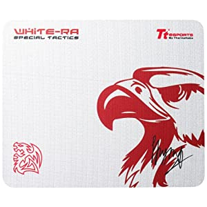 Tt eSPORTS Special Tactics Gaming Mauspad EMP0007SMS, white-Ra