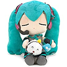 "Vocaloid Miku Hatsune X Shuumai-kun Taito 10 ""de juguete de Peluche ojo cerrado Ver."""