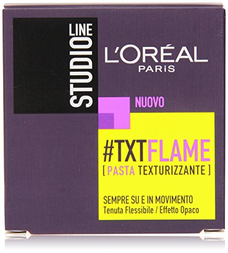 L'Oréal Paris Studio Line Txt Flame Pasta Ultra Modellante Effetto Naturale, 75 ml