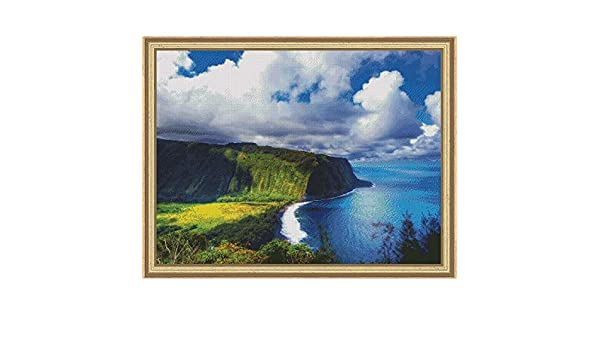 Big Island Landscapes and Seascapes Counted Cross Stitch Pattern Hawaii Pattern Only, You Provide The Floss and Fabric