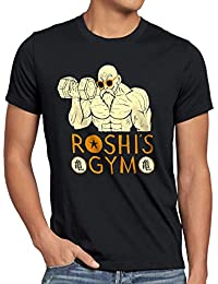 style3 Roshi Dragon Master T-Shirt Homme turtle ball z songoku