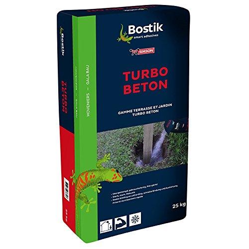 Bostik Turbo Beton Ruck Zuck Gartenbau Beton 25kg Sack grau