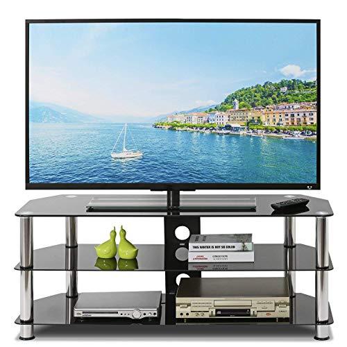 Freizeit Zone Holz TV Ständer, Waschbeckenunterschrank Aufbewahrung Konsole mit Tür - Aus Holz-tv-ständer