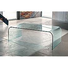 Amazon.it: tavolino vetro curvato