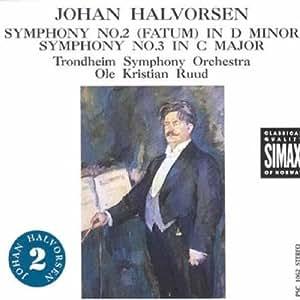 Halvorsen: Sinfonien Nr.2 und 3