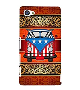American Van Indian Art 3D Hard Polycarbonate Designer Back Case Cover for Sony Xperia Z5 Compact :: Sony Xperia Z5 Mini