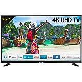 Samsung 125 cm (50 Inches) UA50NU6100 4K UHD LED Smart TV (Black) (2019 model)