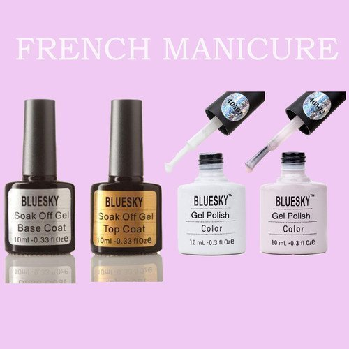bluesky-french-manicure-pack-soak-off-uv-gel-nail-polish4-bottles
