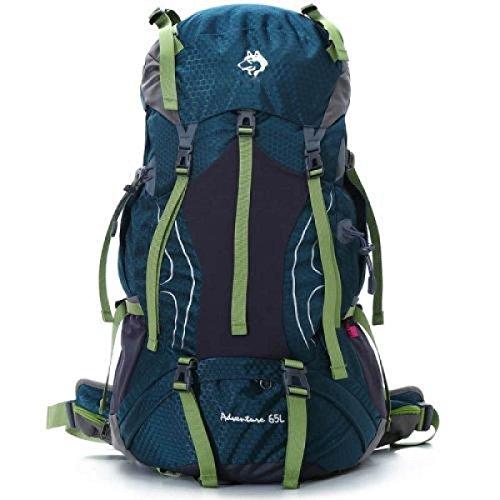 All'aperto Alpinismo Borse Grandi Capacità Da Viaggio Borse 65L,Blue-OneSize Blue