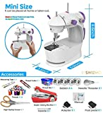 Swizmo Sewing Machine for Home with 29 in 1 Accessory