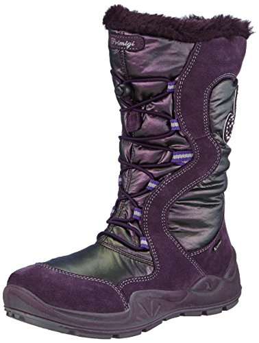 Primigi SYRIA-E, Stivali da neve, gamba lunga, imbottitura calda Ragazza, Viola (Violett (PRUGNA/VIOLA)), 28