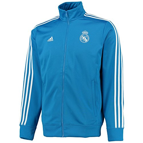 adidas Herren Performance Real Madrid Trainingsjacke, Brblue/White, M