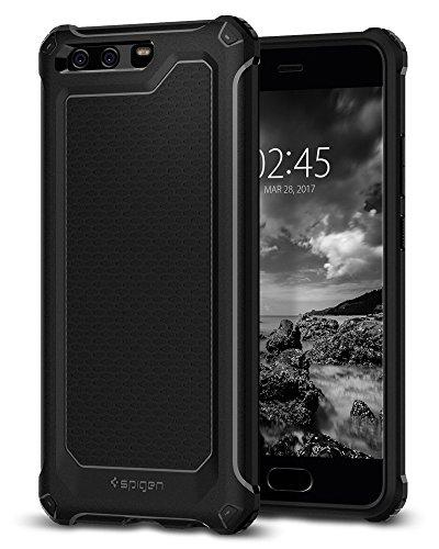 Spigen Rugged Armor extra Huawei P10Plus case con ottimo assorbimento degli shock e fibra di carbonio design per Huawei P10Plus (2017)–nero