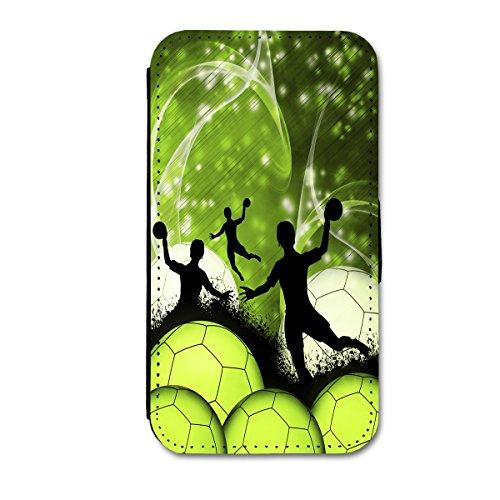 Book Style Flip Handy Tasche Case Schutz Hülle Schale Motiv Etui für Apple iPhone 5 / 5S - Flip 1A49 Design1 Design 1