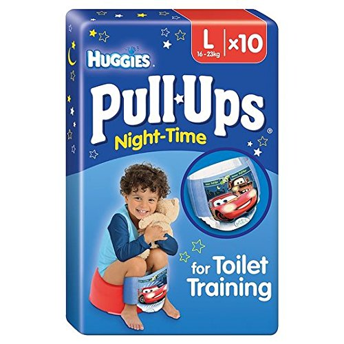 Huggies Pull-Ups couches Nuit Boy Lot de 10